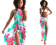 Tropical Floral Swimsuit Cover Up