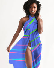 Beach Blue Color Daze Swim Cover Up