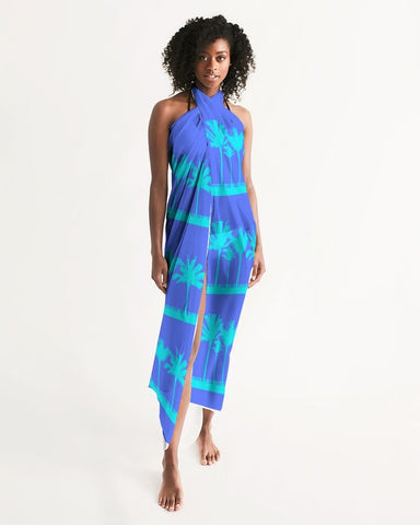 Blue Palms Swimsuit Cover Up