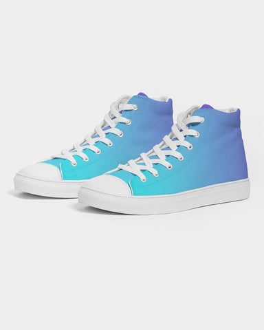 Bahama Blue Ombre Hightop Sneakers