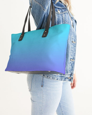 Bahama Blue Ombre Tote