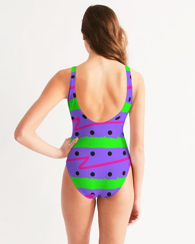 Purple Lime Daze Swimsuit