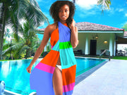 Bahama Colorblock Swimsuit Cover Up