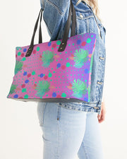 Tropical Pink Lilac Ombre Tote Bag