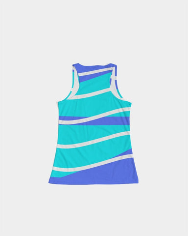 Blue Waves Racerback Tank