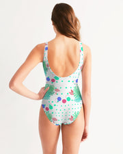 Tropical Leaves Dots Swimsuit