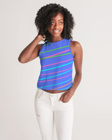 Blue Daze Cropped Tank
