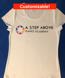 Ladies ASA Logo V-Neck Tee