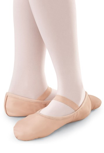Child Balera Leather Full Sole (Color - Ballet Pink)
