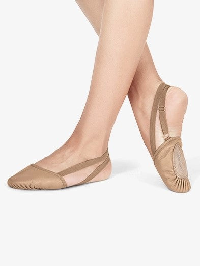 Theatricals Leather Half Sole Lyrical (Color - Tan)
