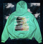 """INTUITION V. SUPERSTITION"" AQUA HAZE 