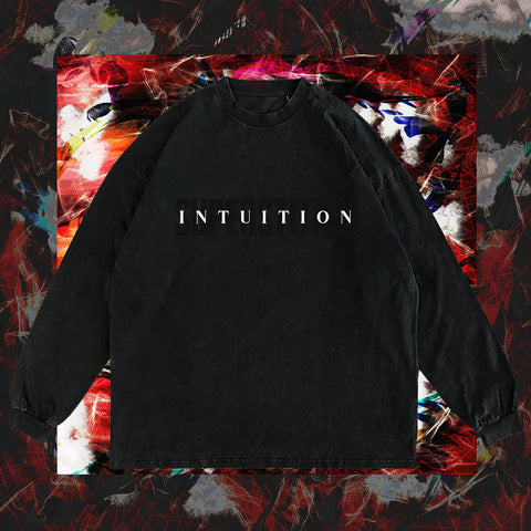 """INTUITION V. SUPERSTITION"" VINTAGE BLACK 