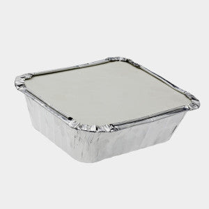 Carry-Out Rectangular Aluminum Container