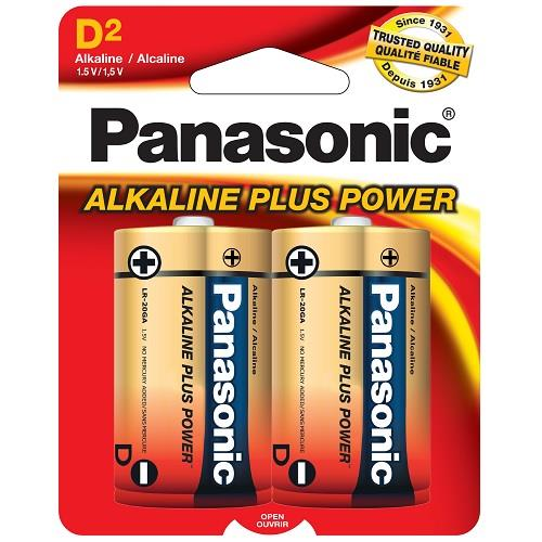 Panasonic Alkaline Battery D-2