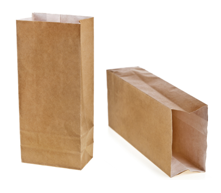 Brown Paper Catering Bag (250/Case)