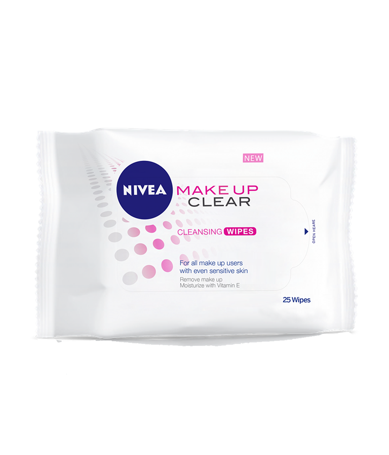 Nivea Make Up Clear Cleansing Wipes - 25Pack