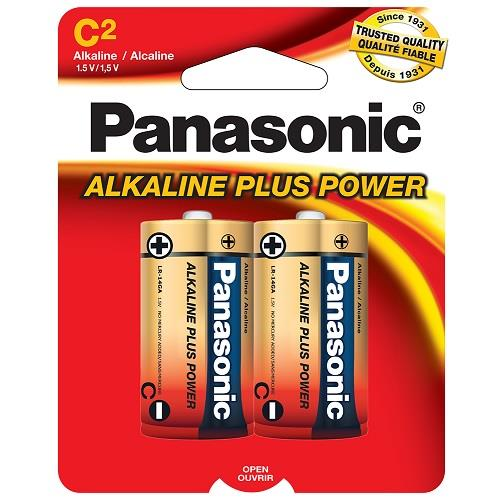 Panasonic Alkaline Battery C-2