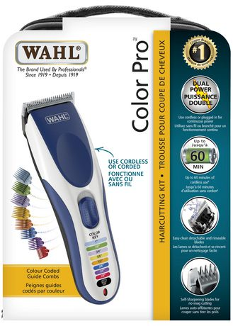 Wahl Color Pro Haircutting Kit 19pcs