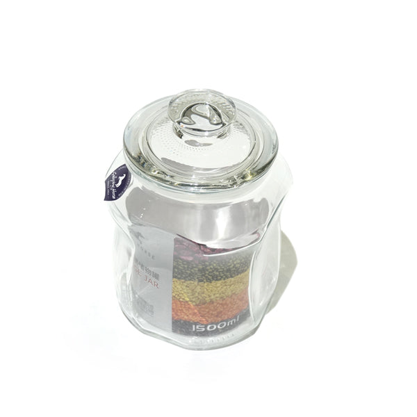G-HORSE Glass Jar With Cover 1500mL
