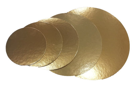 Golden Cake Board (3 Shapes)