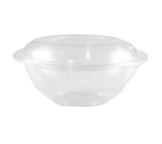 Plastic Salad Bowl Containers (150/Case)