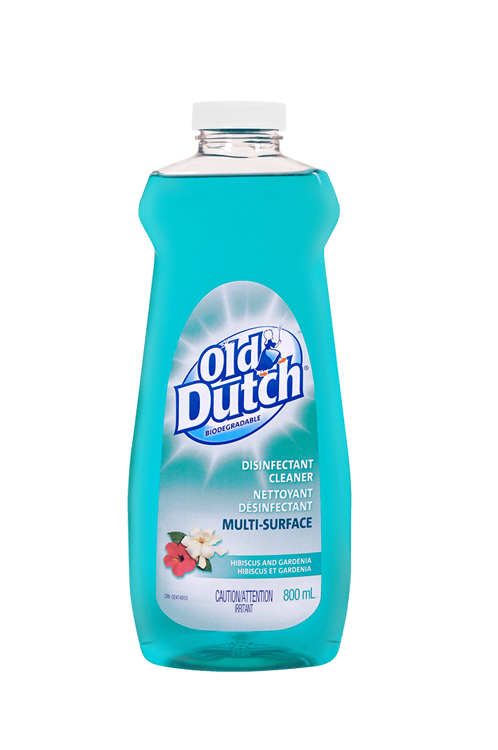 Old Dutch Multi-Surface Disinfectant Cleaner, Hibiscus & Gardenia, 800-mL