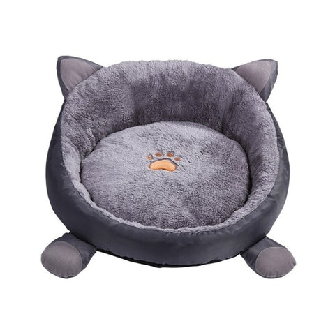 Orthopedic Round Cuddle Nest Snugger Burrow Blanket Pet Bed w/ Removable Cover for Dogs & Cats