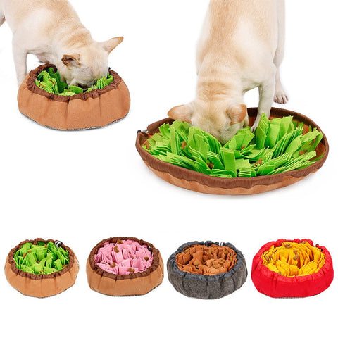 Pet Smelling Mat Pet Educational Toys Dog Snuffle Mat Smell Training Mat Dog Release Stress Feeding Mat
