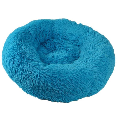 Donut Cuddler Ultra Soft Calming Bed for Dogs and Cats, Self Warming Indoor Snooze Sleeping Cushion Bed