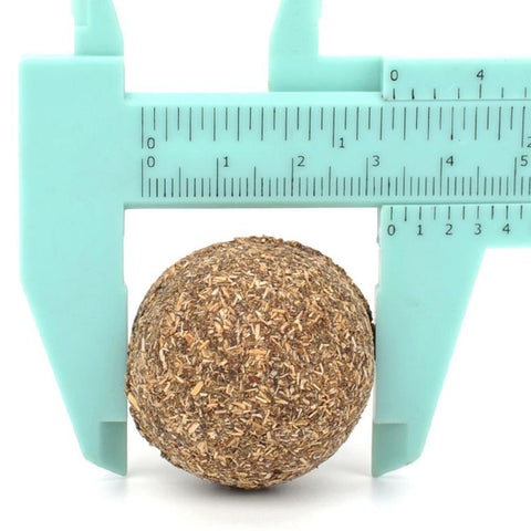 Image of Cat Natural Catnip Toys Menthol Flavor Kitten Treat Ball Cats Playing Cleaning Teeth Toy Clean Tooth Food