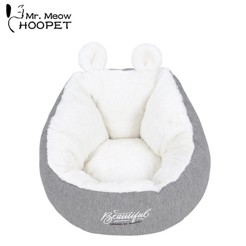 Image of Ultra Soft Calming Bed for Dogs and Cats, Self Warming Indoor Snooze Sleeping Cushion Bed