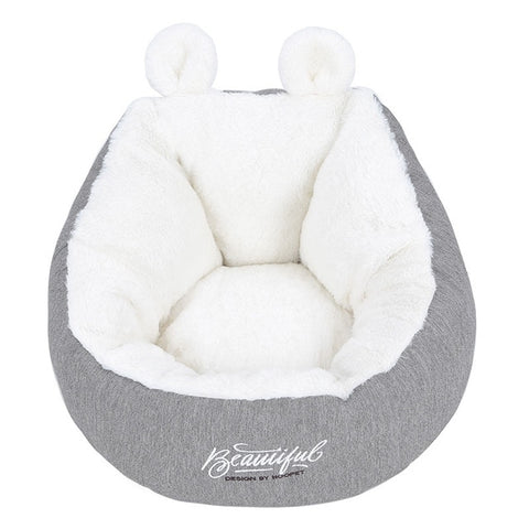 Ultra Soft Calming Bed for Dogs and Cats, Self Warming Indoor Snooze Sleeping Cushion Bed