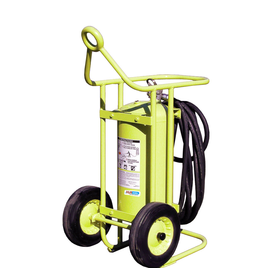 MODEL 600K - 150 lb. Wheeled Halon 1211 Fire Extinguisher