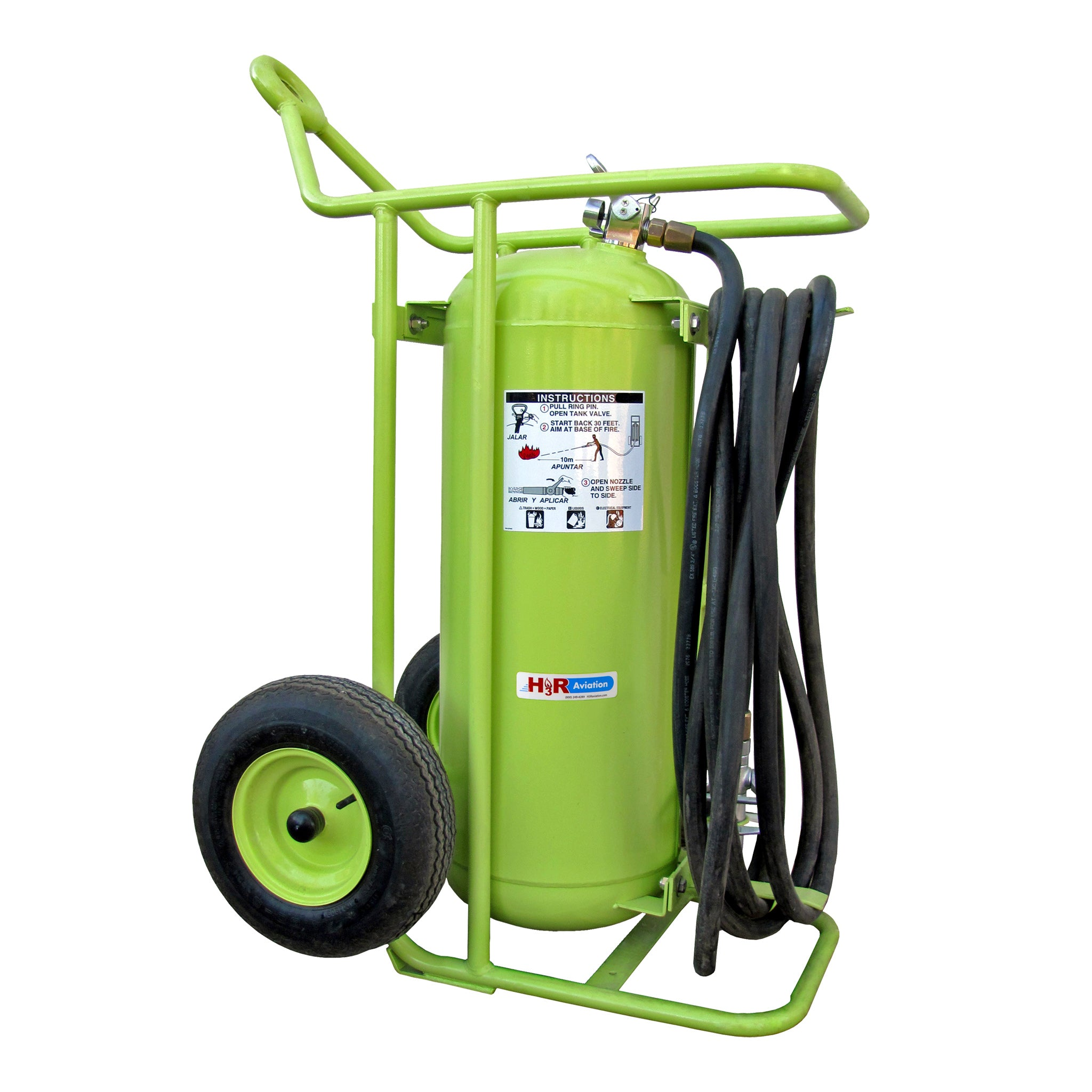 MODEL 775 - 150 lb. Wheeled Novec 1230 Fire Extinguisher