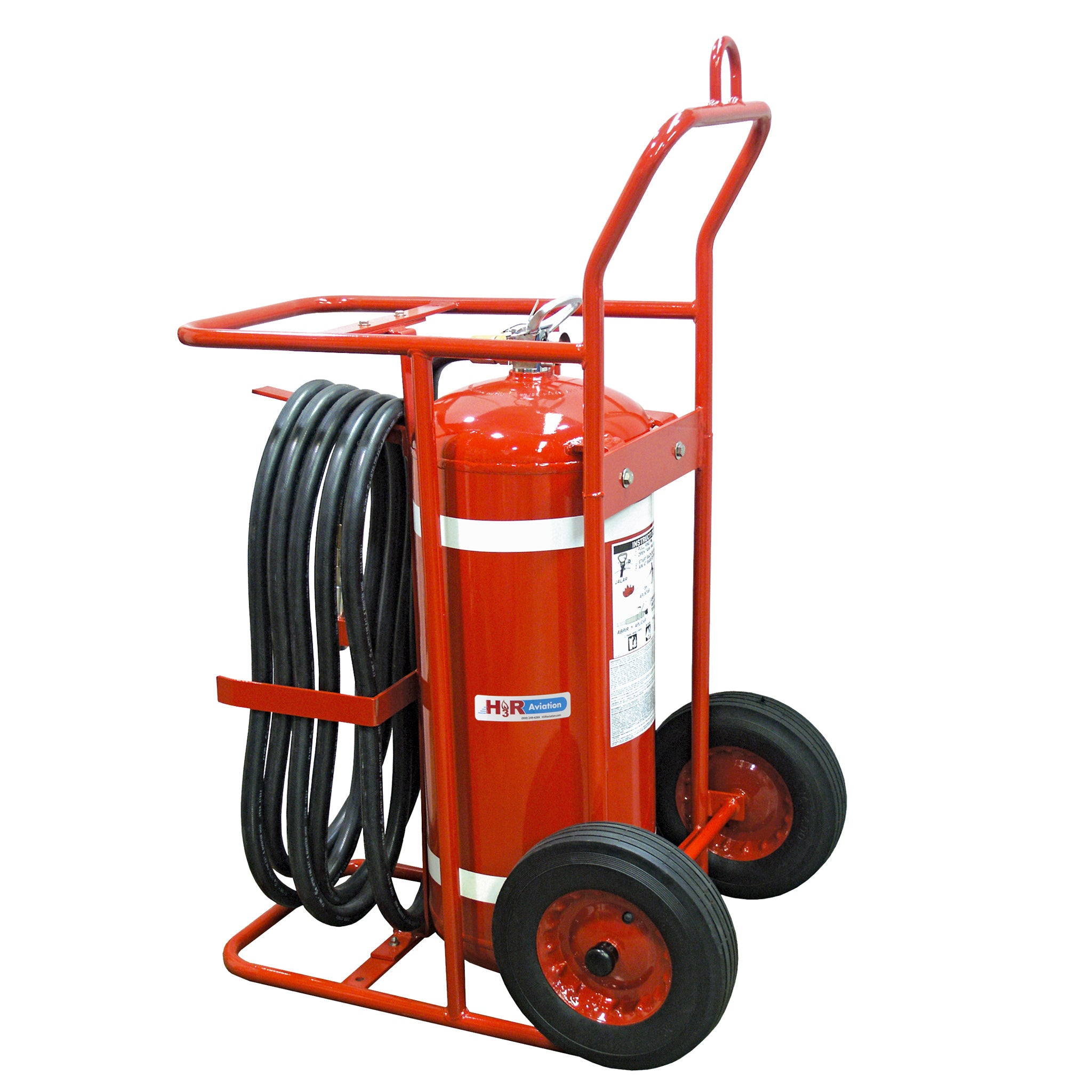 B674 - 150 lb. Wheeled Halotron 1 Fire Extinguisher