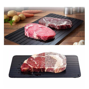 2-in-1 Fast Defrosting Meat Tray chopping board - Needrd