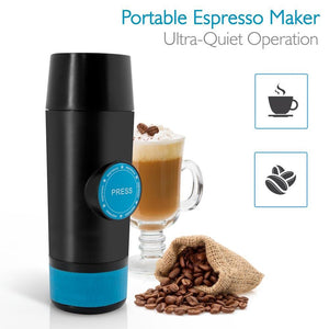 Portable Hot and Cold Mini Espresso Coffee Maker - Needrd