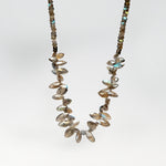 Labradorite Necklace with Mystic Coating