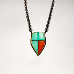 Large Shield Necklace