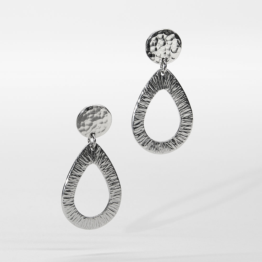 The Open Teardrop Earrings