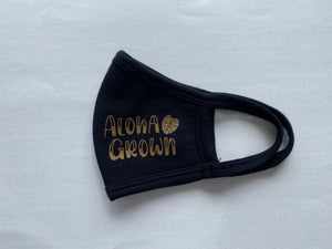ALOHA GROWN CHILD FACE MASK