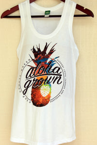 Aloha Grown Pineapple Tank Top (Ladies)