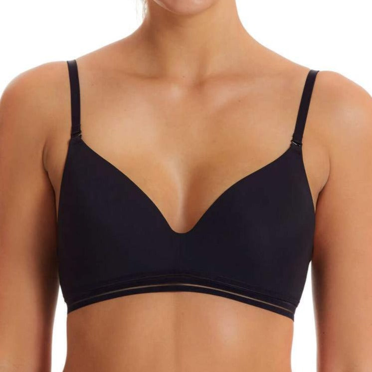 Fine Lines First Fit Black Wire-Free Bra