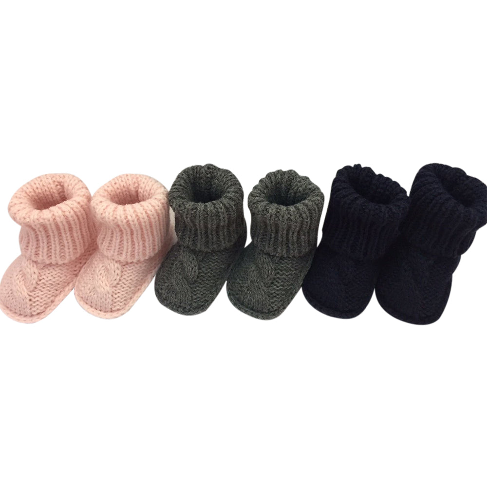 Gingerlilly Knitted Baby Booties