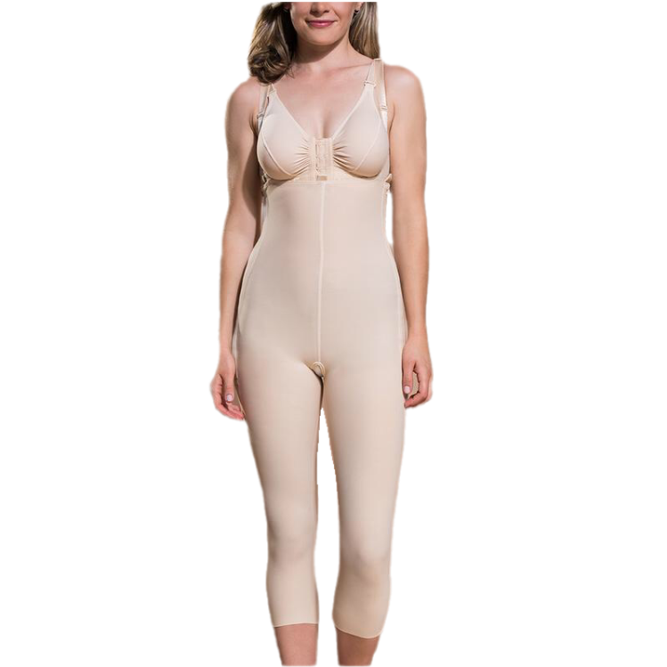 Girdle With Suspenders - Calf Length