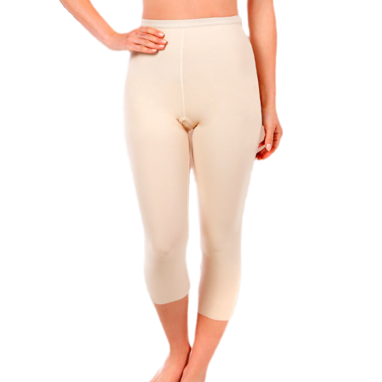 Low-Waist Capri-Length Girdle Zipperless LW-LGM2