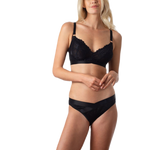 Hotmilk Project Me Warrior Softcup Black Bra