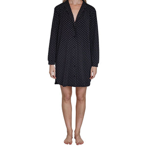 Clementine Bamboo Dot Night Shirt