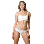 Show Off Maternity Bra Ivory - Hotmilk