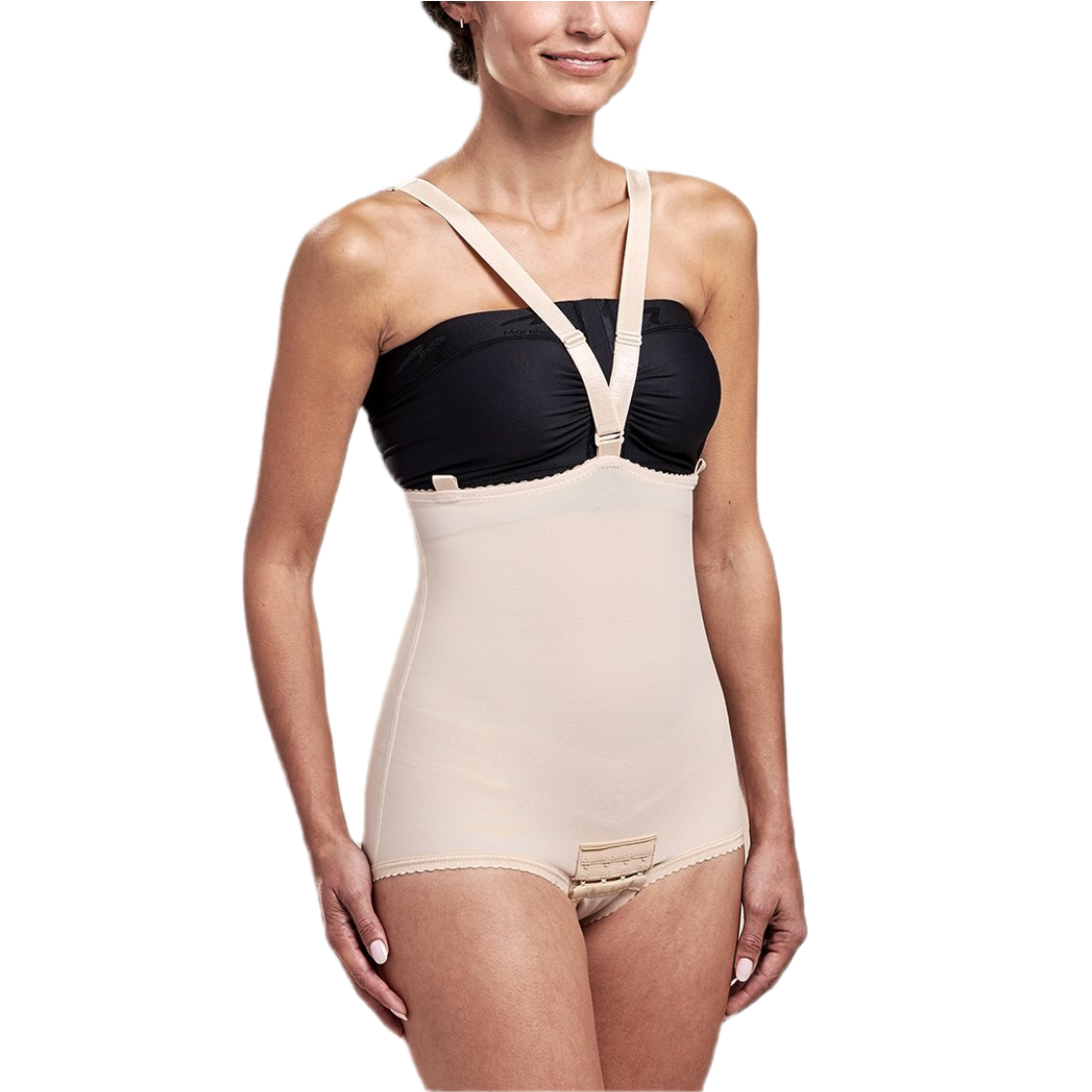 Zipperless Girdle With Suspenders Bikini Length FBA2
